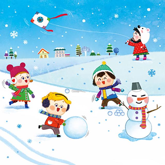 韓国の冬遊び